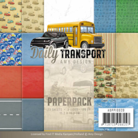 ADPP10020 Paperpad - Daily Transport - Amy Design