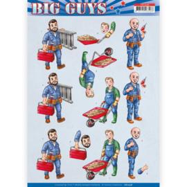 CD11328 3D vel A4 - Big Guys - Yvonne Design