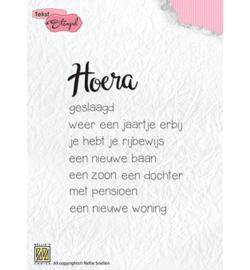 DTCS018 Clearstempel Tekst NL - Nellie Snellen