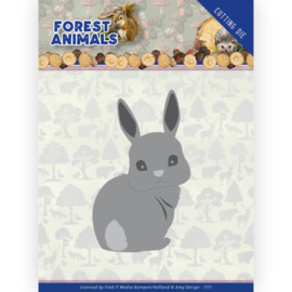 ADD10235 Snij- en embosmal - Forest Animals - Amy Design