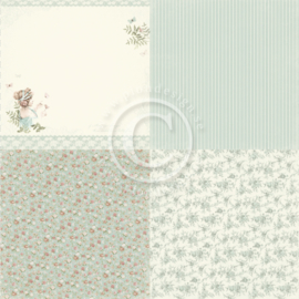 PD19003 Scrappapier - Life is Peachy - Pion Design