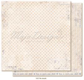 1037 Scrappapier dubbelzijdig - Denim en Girls - Maja Design