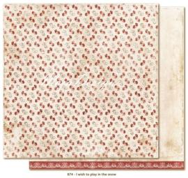 874 Scrappapier dubbelzijdig - I Wish - Maja Design