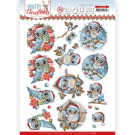 SB10580 Stansvel A4 - Wintery Christmas - Yvonne Design