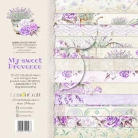 Papierbloc 30.5 x 30.5 - My Sweet Provence - Lemoncraft - PAKKETPOST!