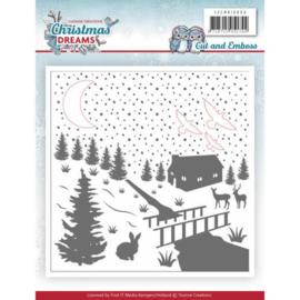YCEMB10009 Embosmal - Christmas Dreams - Yvonne Creations