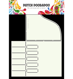 470.713.677 Card Art Stencil A4 - Dutch Doobadoo