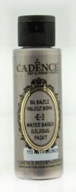 Gilding metallic acrylverf 70ml - Antiek Zilver - Cadence