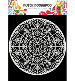 470.715.621 Mandala 15x15cm - Dutch Doobadoo