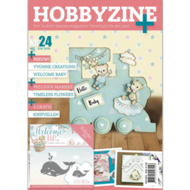 Hobbyzine Plus nr. 24, inclusief mal