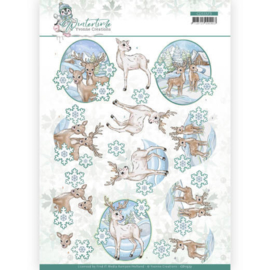 CD11573 3D vel A4 - Winter Time - Yvonne Creations
