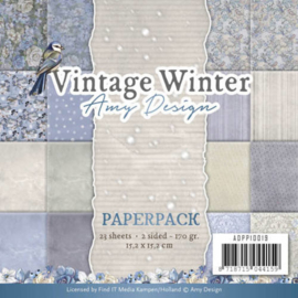 ADPP10019 Paperpad - Vintage Winter - Amy Design