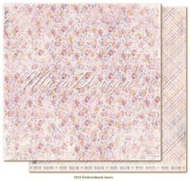 1033 Scrappapier dubbelzijdig - Denim en Girls - Maja Design