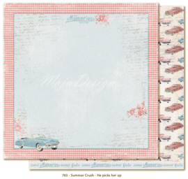 763 Scrappapier dubbelzijdig - Summer Crush - Maja Design