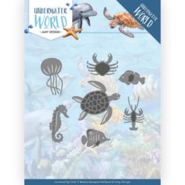 ADD10212 Snij- en embosmal - Under Water World - Amy Design