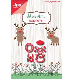 6002-0937 Snij- en embosmal - Mon Ami - Rudolph - Joy Crafts