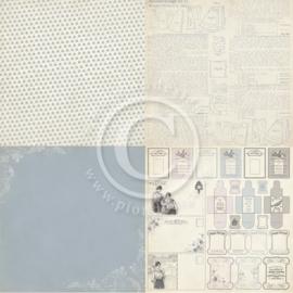 PD3505 Scrappapier - Alma's Sewing - Pion Design