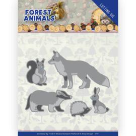 ADD10234 Snij- en embosmal - Forest Animals - Amy Design