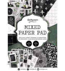 A5MPPSL161 - SL Mixed Paper Pad Pattern paper Essentials nr.161 - Studio Light