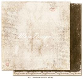 879 Scrappapier dubbelzijdig - I Wish - Maja Design