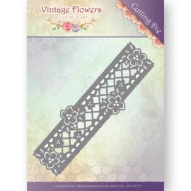 JAD10033 Snij- en embosmal - Vintage Flowers - Jenine's Art