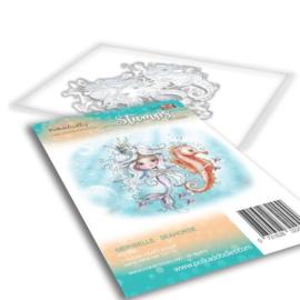 PD7834 Polkadoodles stamp Meribelle - Seahorse