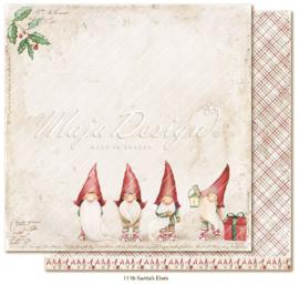 1116 Scrappapier dubbelzijdig - Traditonal Christmas - Maja Design