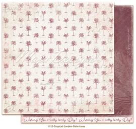 1155 Scrappapier dubbelzijdig -  Tropicial Garden - Maja Design