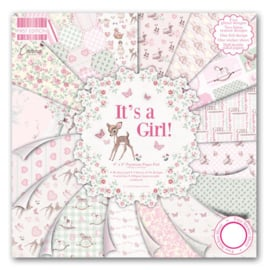 Paperpad 20 x 20cm - It's a Girl - First Edition