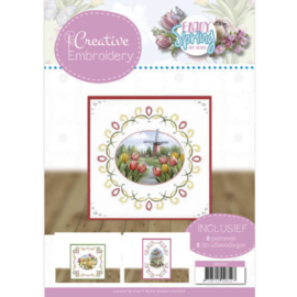 CB10024 Creative Embrodery - Enjoy Spring - Amy Design