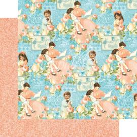 4501086 Scrappapier dubbelzijdig - Precious Memories Collection - Graphic45