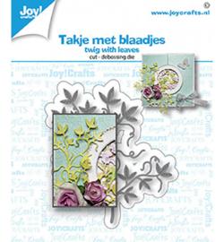 6002-1571 - Takjes met blaadjes - Joy Crafts