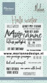 CS1036 Clearstempel NL - Marianne Design