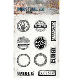 STAMPIN255 Stempel A6  - Industrial 2.0 - Studio Light