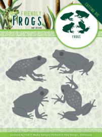 ADD10229 Snij- en embosmal - Friendly Frogs - Amy Design