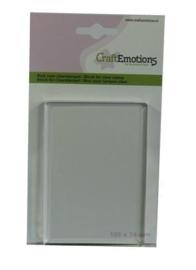 130501/1911 Acrylblok 74x105mm - Craft Emotions