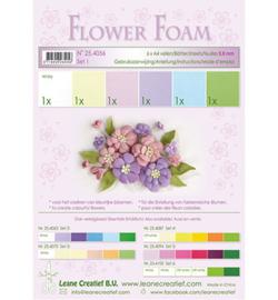 25.4056 Flower Foam - 6 vellen A4 0.8mm - Leane Creatief