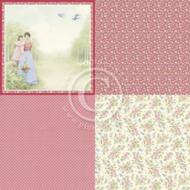 PD9302 Scrappapier - Patchwork of Life - Pion Design