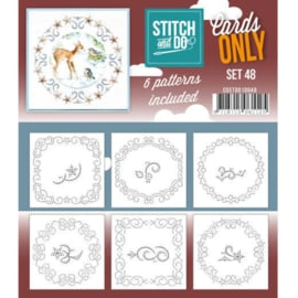 Stitch an Do Cards Only nr. 48