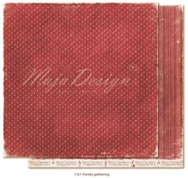 1121 Scrappapier dubbelzijdig - Traditonal Christmas - Maja Design