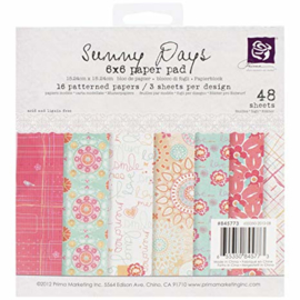 845773 Paperpad Sunny Days - Prima Marketing