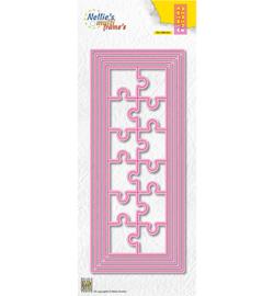 MFD145  Snij-en embosmal - Puzzel - Nellie Snellen