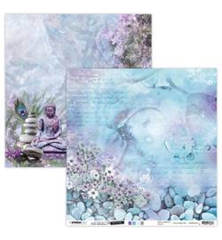 SCRAPJMA10 Scrappapier dubbelzijdig - Jenine's Mindful Art Time to Relax - Studio Light