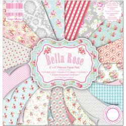 Paperpad 15x15cm - Bella Rose - First Edition