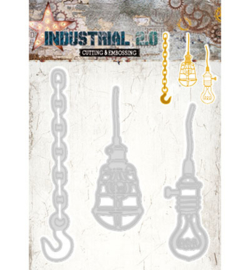 STENCILIN69  Snij- en embosmal - Industrial - Studio Light