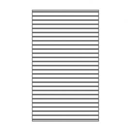 "100604-108 Lines Embossingstencil 3x5""- Vaessen"