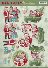 CD11195 Big Guys - Christmas - Yvonne Creations