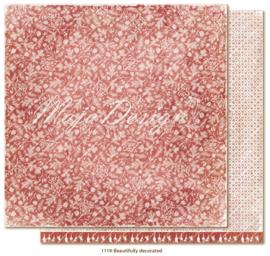 1119 Scrappapier dubbelzijdig - Traditonal Christmas - Maja Design