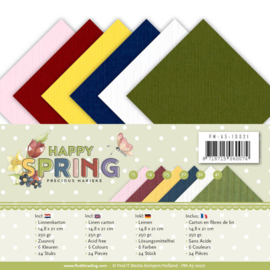 PM-A5-10021 Karton A5 - Happy Spring - Marieke Design