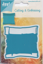6002-0161 Snij- en embosmal - Joy Crafts